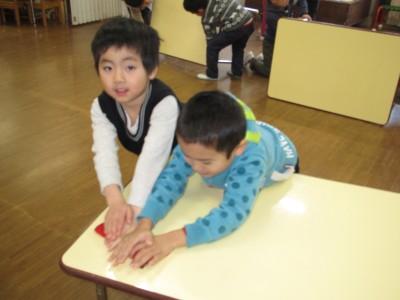 テーブル拭きIMG_6844