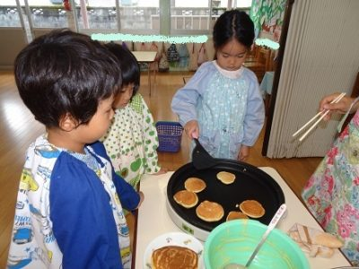 DSC06330お泊まりパンケーキ