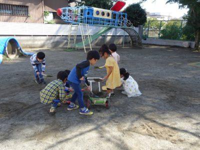 DSC07283園庭整備